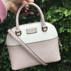 Mini Carli Womens Leather Satchel Bag